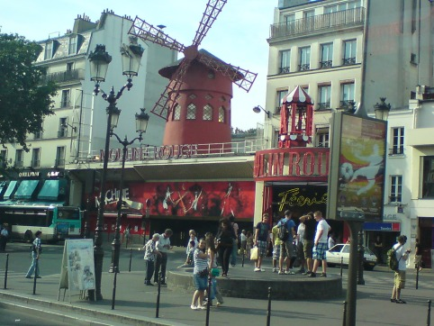Building of Moulin Rouge