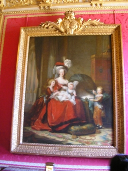 Painting in Versailles