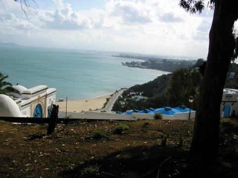 Sidi Bou Said view
