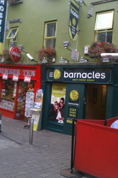 Barnacles hostel Galway