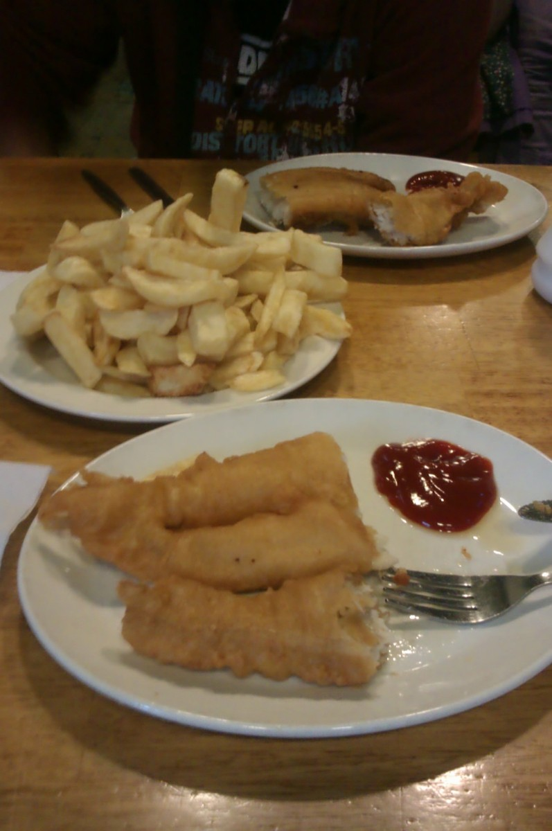 Mc Donagh's fish and chips