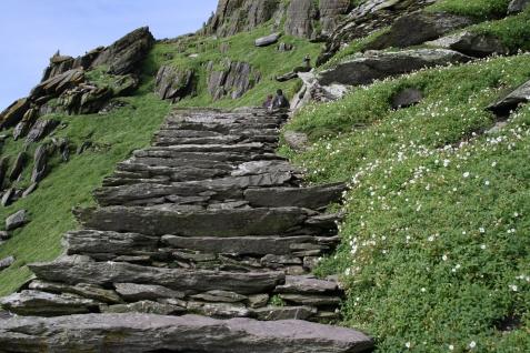 Skellig steps