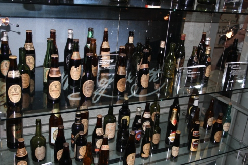 Guinness bottles through years