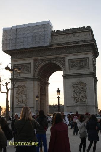 arc the triomph paris