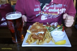 Fish & Chips at Fiddlers Arms