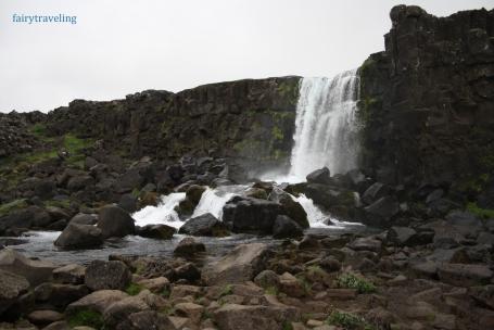 oxararfoss-waterfall