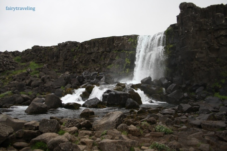 oxararfoss-waterfall
