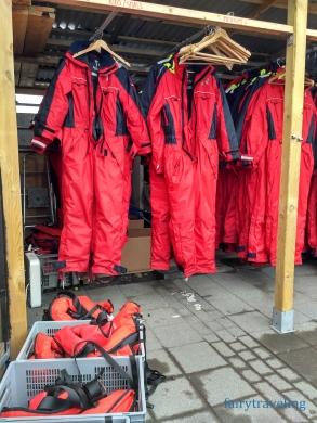Rib boat gear